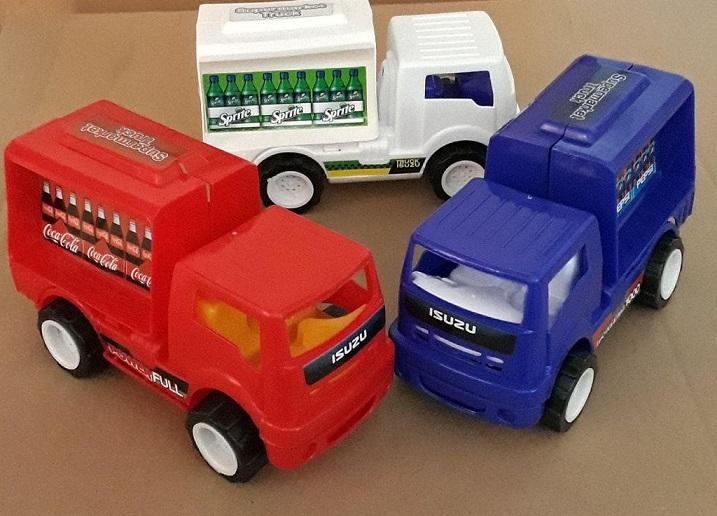 کامیون ایسوزو سوپرمارکت -- پخش اسباب بازی پسرانه 5000 و 10000 فروش عمده