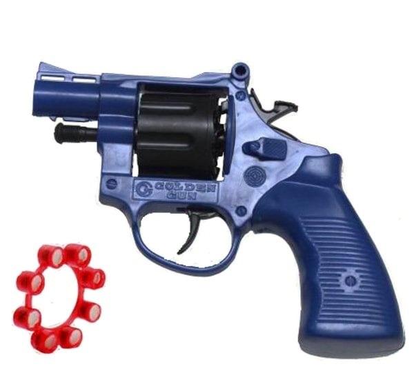 تفنگ-ترقه-ای-جیمبو پخش عمده انواع کلت ترقه ای اسباب بازی کارخانه طلایی